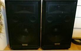 """Pair of Kam KSF12 12""""400W passive speakers"""
