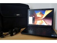 """Mint Dell Intel Core i5 Laptop,4GB DDR3 RAM,320GB HDD,Wifi ready,14"""" LED display+Carry case"""