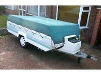 Pennine Sterling folding trailer