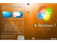 WINDOWS 7 SP1 32/64 ALL IN ONE REPAIR/REINSTALL DISK