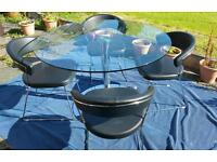 Round Glass Table For Sale