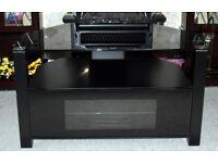 Alphason Ambri 800 TV Unit Stand Black