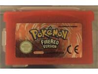 Pokémon Fire red version