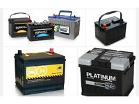OLD CAR BATTERIES (FREE COLLECTION)