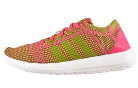 NEW Adidas Element Refine Tricot Womens Girls Pink AUTHENTIC UK Size 5