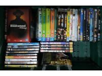 135 DVD's Inc some Box Sets ( So in fact many more than 135 )