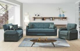 BRAND NEW 💙IMPORTED MALTA SOFA BED💙 WITH INSIDE STORAGE CAPACITY NOW IN STOCK (ORDER