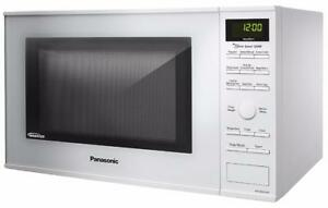 Panasonic (1.2 Cubic Feet) Microwave Oven- STAINLESS STEEL.
