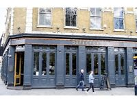 Sous Chef wanted for The Defectors Weld Pub, West London, Shepherds Bush, W12
