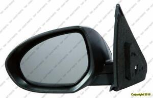 Door Mirror Power Driver Side Heated Mazda 3 2010-2013