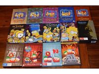 DVD pack SIMPSONS (1-9) -SOUTHPARK (1-3) - FAMILY GUY (Trilogy)