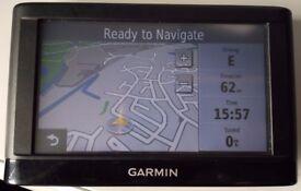 GARMIN nüvi 42 GPS Sat.Nav. UK and West EUROPE 2018.10 (no offers!)