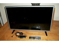 """LG 32"""" LED HD TV WITH FREEVIEW"""