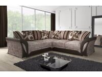 🔰🔰 QUiCK DELIVERY🔰🔰BRAND NEW SHANNON LARGE SOFAS == 3+2 OR CORNER + SAME DAY DROP