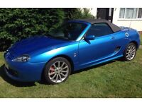 MGTF Spark 115 1.6 Convertable Limited Edition only 36,000 miles