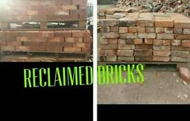 Recliamed materials bricks