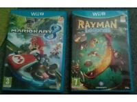 2 brand new Wii U games