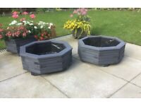 Octagonal Planter - Treated Timber (Large)
