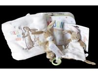 Guess How Much I Love You Hare Attachment Toy Comfort Blanket Keepsake Case