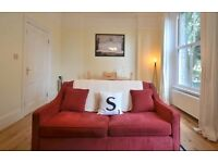 Beautiful red sofa bed | MADE | *As new*