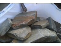 Cornish Hedging stone, from Tynes quarry in St Teath. only £66.00 per Bulk bag including vat