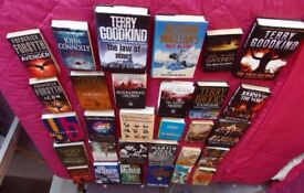Books for sale - hardback and paperback. Mixed lot.
