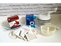 !Clearance!!All for £5!!Tomato&Mozzarella slicer,kitchen scales, manual food processor, fruit basket