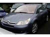 Cheap Economical 2006 Citroen C4 1.6Hdi VTRplus Very good condition, new full MOT