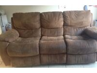 3&2 Reclining sofas