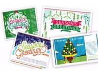 Christmas e-card designer