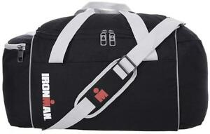 IRONMAN 21 Inch Lightweight Foldable Sport Travel Size Retro Duffel Gym Bag - Black