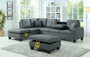 New Sectionals Arriving March 20th just $950 taxes included compared to $1749