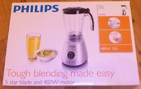 New Philips HR2000/50 Silver Blender