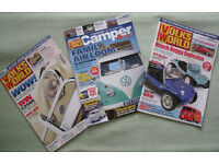 Volkswagen Magazines x 3: Volks World x 2 & Volks World Camper & Bus x 1. £2 the lot.