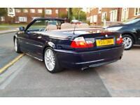 2001 BMW E46 325CI M SPORT CONVERTABL 97K FSH PX SWAP WELCOME TRY ME