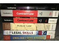 First 1st Year Law Uni University Books