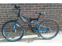 Dunlop dual suspension mountain bike
