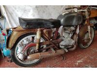 Ducati TS175 Bevel Single Restoration Project