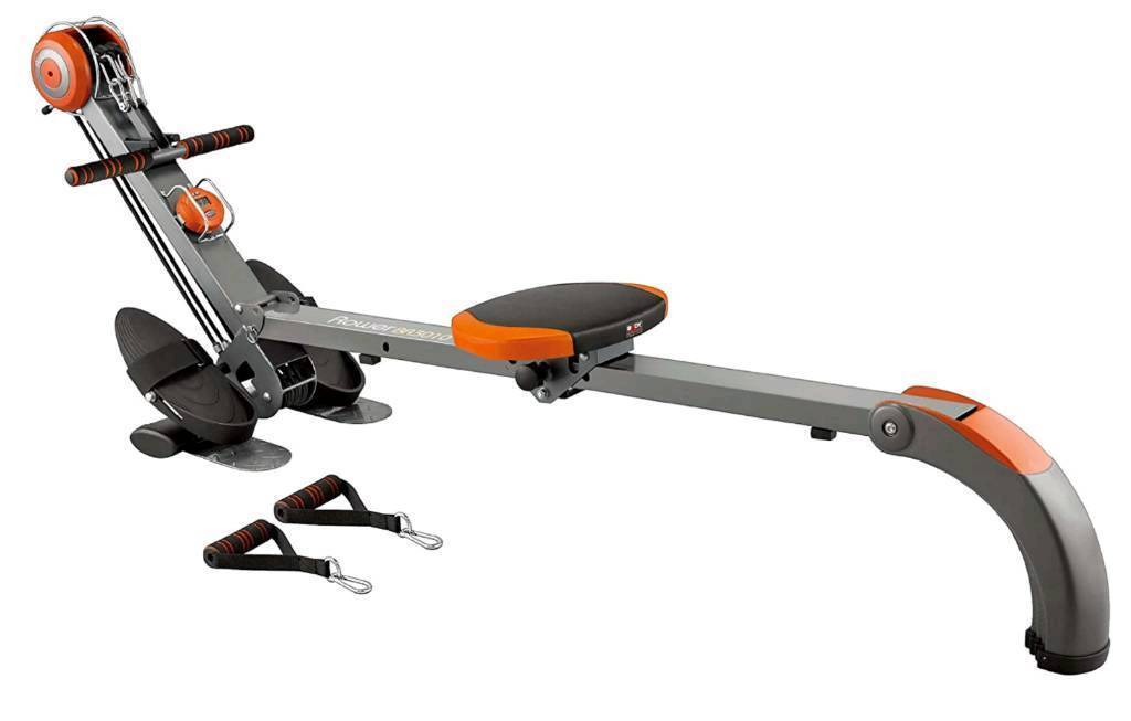 Body sculpture foldable rowing machine