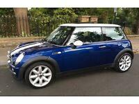 AUTOMATIC MINI COOPER PANORAMIC ELECTRIC SUNROOF LEATHER TRIM EXCELLENT CONDITION AUTO COOPER ONE S