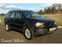 NOW REDUCED! MOT'D until 2018! 2005 Volvo XC90 D5 SE auto DIESEL 7 seater, history, 2 keys!