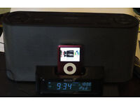 Loaded 8GB iPOD 3rd Generation with SONY ICF-C1iP Radio Alarm iPod docking station