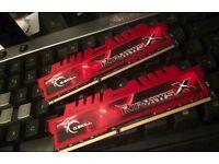 G.Skill RipjawsX 8GB DDR3 2133 MHz RAM (Red)