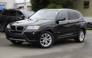 2013 BMW X3 xDrive28i! PREMIUM PKG! LEATHER! SUNROOF!
