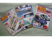 Volkswagen Magazines x 3: Volks World x 2 & Volks World Camper & Bus x 1. £2 the lot.