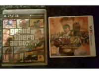 Playstation 3 and Nintendo 3ds games
