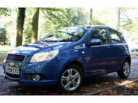 2009December Chevrolet Aveo;1.4 petrol;Automatic gearbox;12months MOT!cheap to run/tax/insure;1owner
