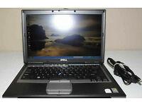DELL LATITUDE D630 2.2GHZ CORE 2 DUO 250GB HDD 4GB RAM WIFI