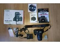 Canon 600d DSLR + Lens