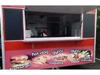CATERING TRAILER BURGER VAN FULLY LOADED RECENTLY FULLY REFURBISHED READY TO START TODAY